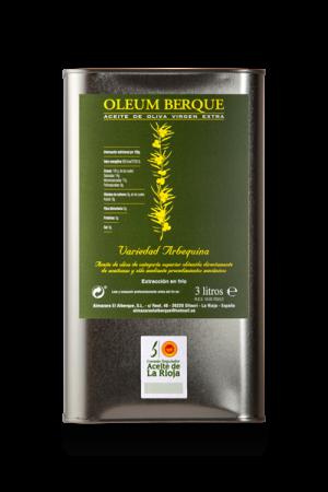 Lata Oleum Berque 3L (Caja de 4 Latas de 3 Litros)